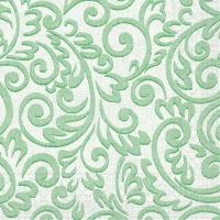 100 Tissue Lunch Servietten - Bosse (grün)