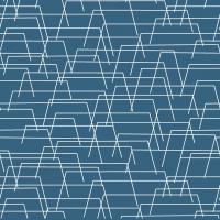 Linclass Servietten 40x40 cm - Tarik (blau)