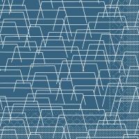 100 Tissue Lunch Servietten - Tarik (blau)