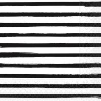 Tissue Servietten 40x40 cm - Bea  (schwarz)