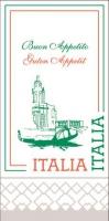 Tissue Servietten 40x40 cm - Italia