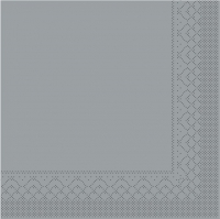 Tissue Servietten 25x25 cm - GRAU