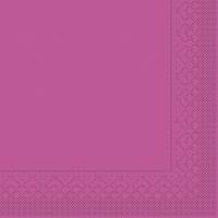 Tissue Servietten 25x25 cm - BASIC  VIOLETT  25x25 cm