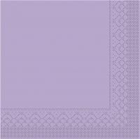 Tissue Servietten 25x25 cm - BASIC  LILA  25x25 cm