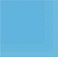 Tissue Servietten 25x25 cm - AQUABLAU