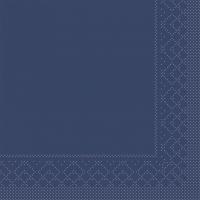 Tissue Servietten 25x25 cm - BASIC  BLAU  25x25 cm