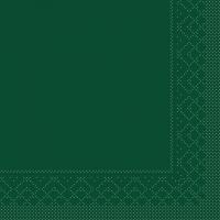 Tissue Servietten 25x25 cm - BASIC  GRÜN  25x25 cm