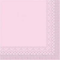 Tissue Servietten 25x25 cm - BAISC  ROSA