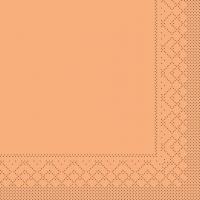 Tissue Servietten 25x25 cm - BASIC  APRIKOT  25x25 cm