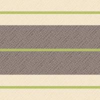Linclass Servietten 40x40 cm - Tom  (creme/kiwi/braun)