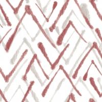 Linclass Servietten 40x40 cm - Zack  (grau/bordeaux)