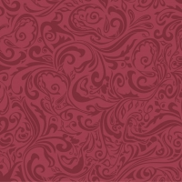 Linclass Servietten 40x40 cm - Lias  (bordeaux)
