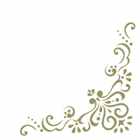 Linclass Servietten 40x40 cm - Mila (olivgrün)