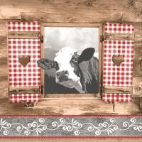 Tissue Servietten 33x33 cm - Almblick