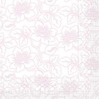 Tissue Servietten 33x33 cm - Hedda  (rosé)