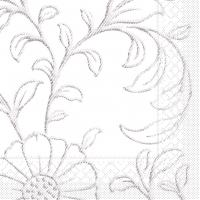 Tissue Servietten 33x33 cm - Apart  (blaugrau)