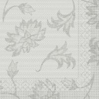 Tissue Servietten 40x40 cm - Lisboa  (grau)