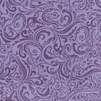 100 Tissue Dinner Servietten - Lias (lila)