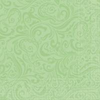 100 Tissue Dinner Servietten - Lias (Pistazie)