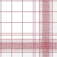 Tissue Servietten 40x40 cm - Nadeem  (bordeaux)