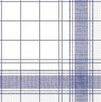 Tissue Servietten 40x40 cm - Nadeem  (blau)