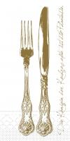 Tissue Servietten 40x40 cm - Heidelberg (Goldbraun)
