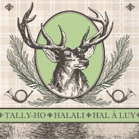 100 Tissue Dinner Servietten - HALALALI