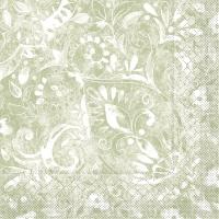 Tissue Servietten 40x40 cm - Felicia  (oliv)