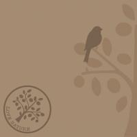 Linclass Servietten 40x40 cm - Love Nature-Baum (beige grau)
