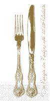 Tissue Servietten 33x33 cm - Heidelberg (Goldbraun)