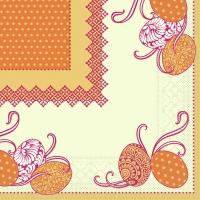 Tissue Servietten 33x33 cm - ANDY . gelb