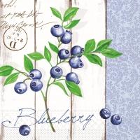 Tissue Servietten 40x40 cm - Blueberry