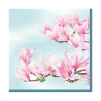 Servietten 25x25 cm - Magnolia blue