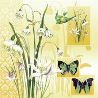 Servietten 33x33 cm - Herald of Spring