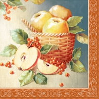 Servietten 33x33 cm - Apple Picking