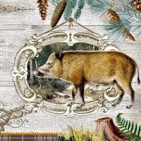 Servietten 33x33 cm - Wildlife Portrait