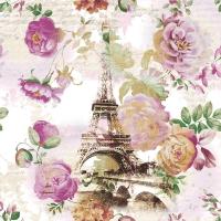 Servietten 33x33 cm - Tour Eiffel