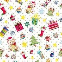 Servietten 33x33 cm - Gifts all over