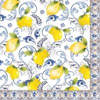 Servietten 33x33 cm - Lemon Garden