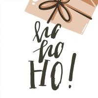 Servietten 33x33 cm - Christmas Cartoon