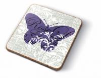 Kork Untersetzer - Romantische Schmetterlinge