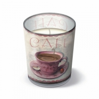 Glaskerze - Kaffeetreffen