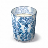 Glaskerze - Porzellan-Ornament