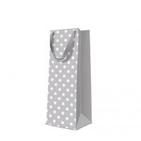 10 Geschenktaschen - Dotsy Check  grey