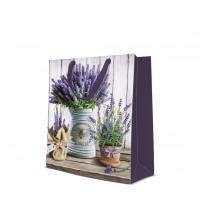 10 Geschenktaschen - Lavender in Bucket