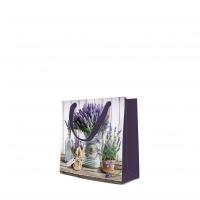 10 Geschenktaschen - Lavender in Bucket square