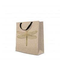 10 Geschenktaschen - Dragonfly medium