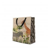 10 Geschenktaschen - Safari medium