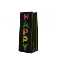 10 Geschenktaschen - Birthday Neons bottle