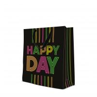 10 Geschenktaschen - Birthday Neons